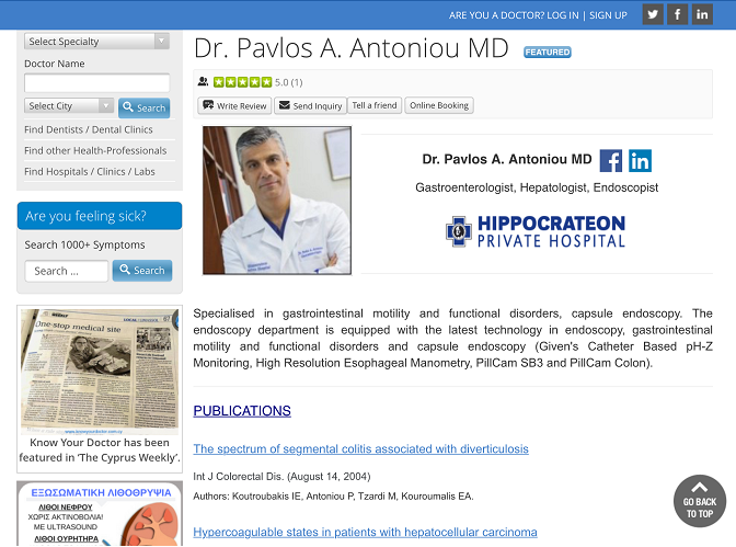 Know Your Doctor Cyprus- screenshot