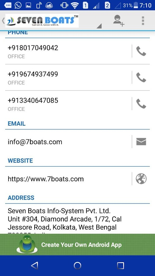 Digital Marketing Tips -7Boats- screenshot
