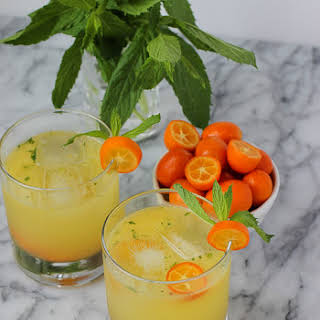 Kumquat Mojitos.