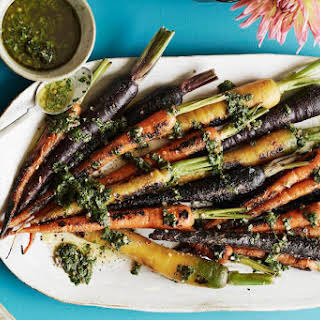 Charred Carrots with Herbs.