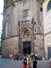 Photo: Our favorite cathedral in Barcelona - Santa Maria del Mar.