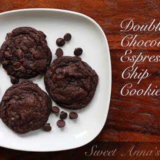 Double Chocolate Espresso Chip Cookies.