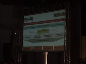 Photo: Presentación de Corinto Meffe sobre FLOSS en Brasil