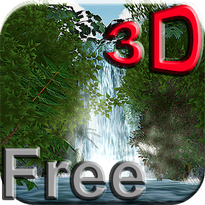 Jungle Waterfall 3D LWP FREE