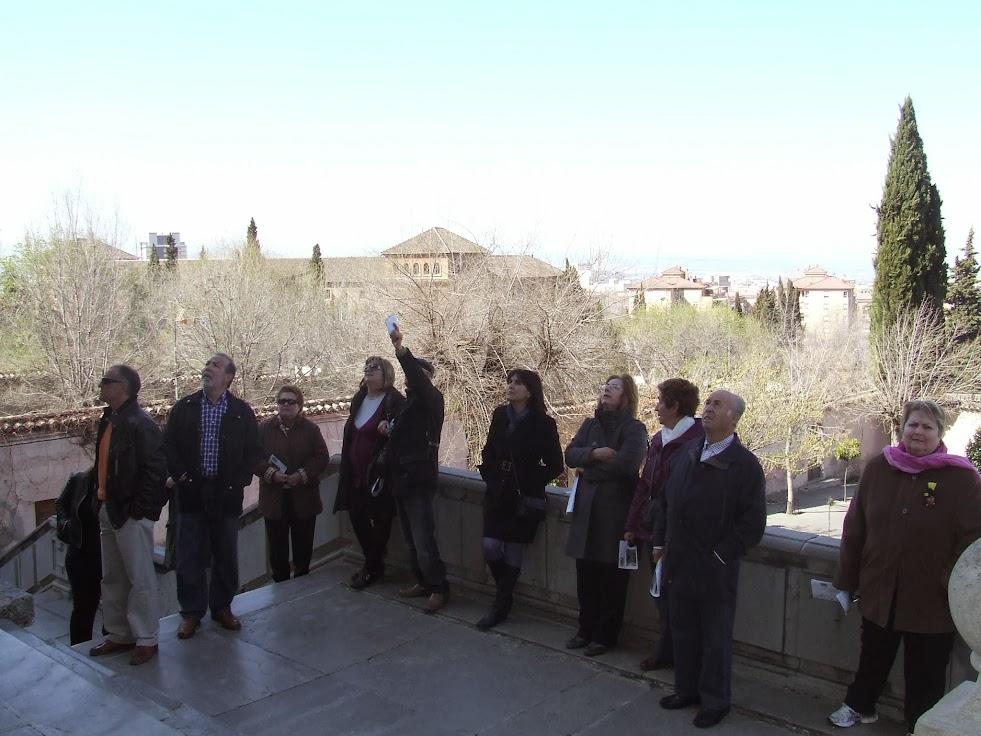 Abre la galeria de las imágenes de la Visita Guiada al Monasterio de la Cartuja