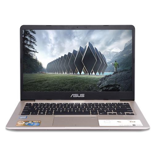 Máy tính xách tay/ Laptop Asus S410UA-EB633T (i3-8130U) (Vàng đồng)