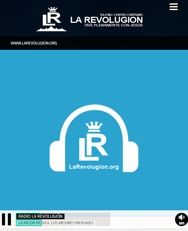 Radio La Revolugion- screenshot