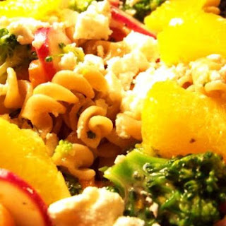 Broccoli Orange Feta Rotini
