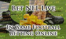 Bet In Play football Odds