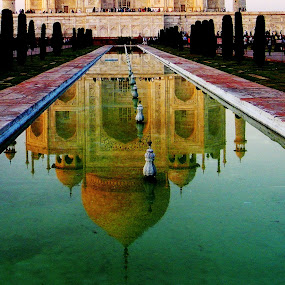 Reflected beauty by Mrinmoy Ghosh - Buildings & Architecture Public & Historical (  )