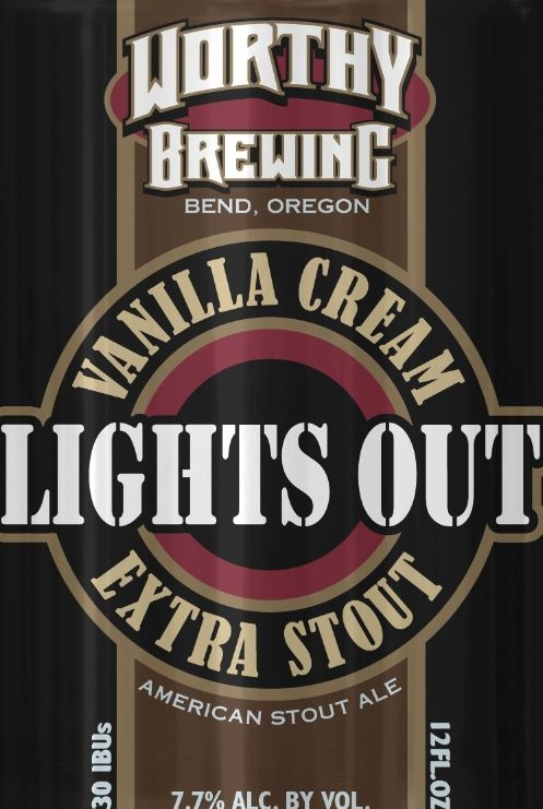 Logo of Worthy Lights Out Stout
