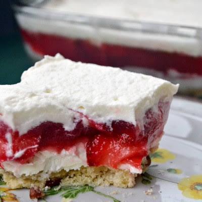 Layered Strawberry Mold