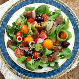 Halloumi & Za'atar Fattoush Salad