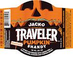 Traveler Jack-O Traveler Pumpkin Shandy