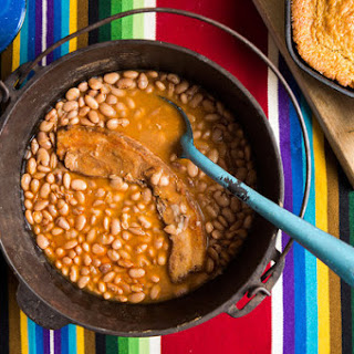 Simple Pinto Beans With Bacon