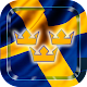 Swedish wallpaper animated flag theme for PC-Windows 7,8,10 and Mac