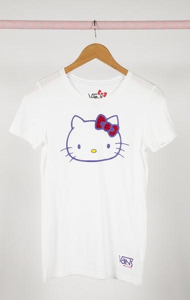 Photo: VANS x Hello Kitty White Tee http://bit.ly/N4DVLC