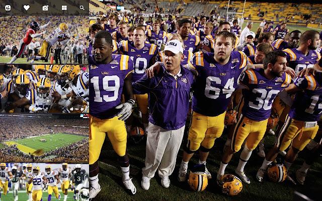 LSU Tigers Football HD Wallpapers New Tab