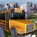 School Bus Driver 3D Icon