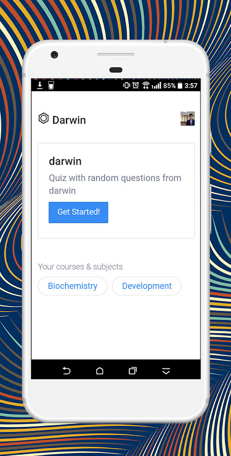Darwin- screenshot