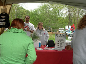 Photo: Volunteers Mallory and Mike. Fun with Bugs! at the Frick Earth Day Celebrations for World Environment Day 2010