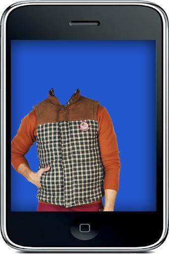 American Man Photo Suit
