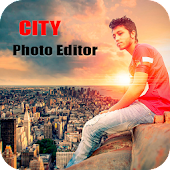 City Photo Editor : Hording Photo Frame