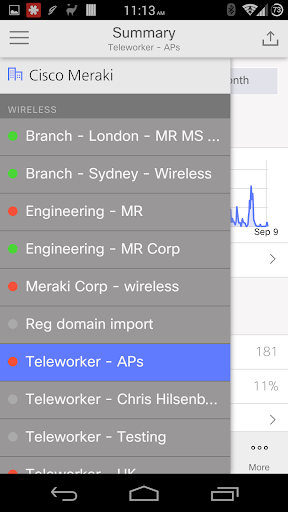 Meraki screenshot 3