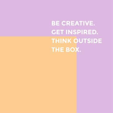 Think Outside the Box - Instagram Post Template