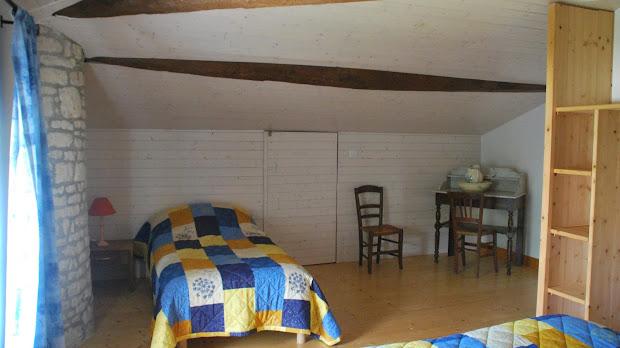 Gîte Le Nid : Chambre lit simple