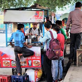 street food by Mukesh Kumar - Food & Drink Eating (  )