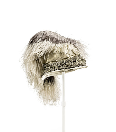 Women's Hat with Ostrich Feather Trim