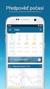 Počasí & Radar: předpověď počasí pro ČR i svět - náhled