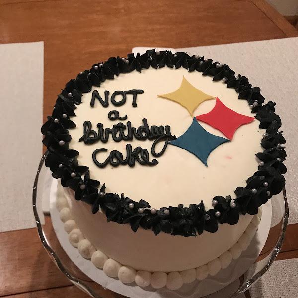 My husband's beautiful birthday cake