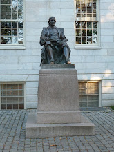 Photo: Founding father of Harvard.