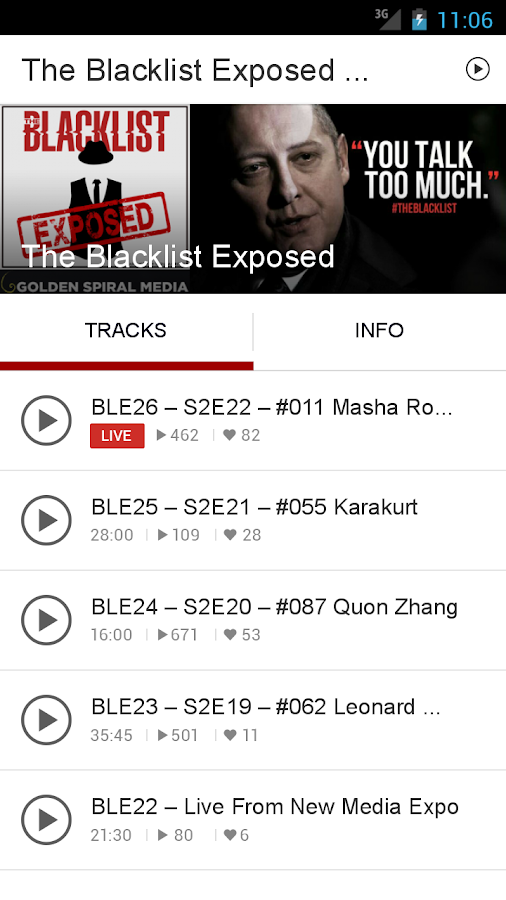 The Blacklist Exposed Podcast- screenshot