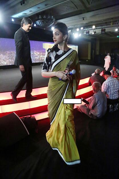 Deepika Padukone pics in saree