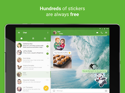 icq video calls & chat- screenshot thumbnail