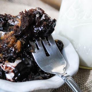 Crock Pot S'mores Lava Cake.