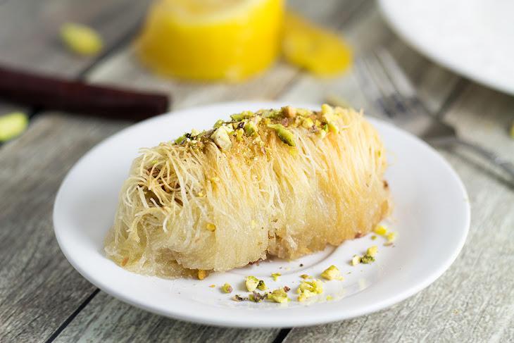 Kataifi - Greek Nut and Honey Pastry Rolls Recipe