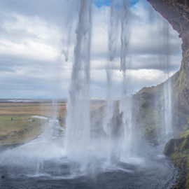 Waterfalls by Sanil Photographys - Nature Up Close Water ( iceland, waterfalls, nature, sanilphotography, scenic, landscape )