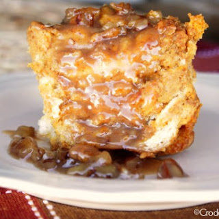 Crock-Pot Pumpkin Praline Bread Pudding