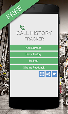 Call History Tracker free - screenshot