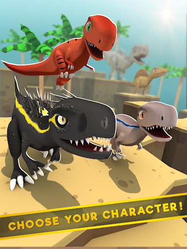 Jurassic Alive: World T-Rex Dinosaur Game screenshot 6