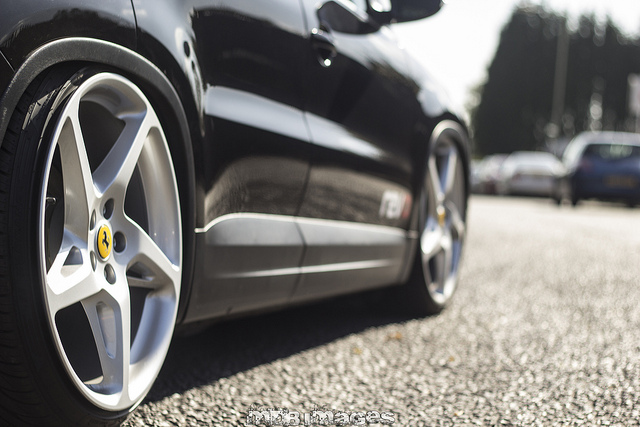 Shiny Waxed Car
