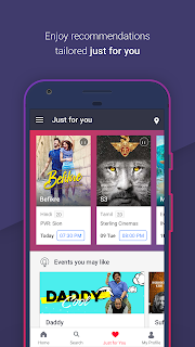BookMyShow–Movie Tickets,Plays screenshot 03