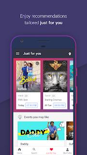 BookMyShow–Movie Tickets,Plays screenshot 03