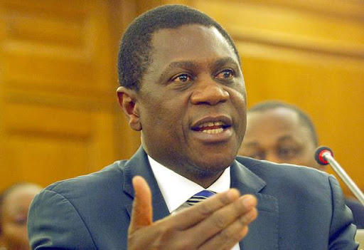 ANC treasurer-general Paul Mashatile.