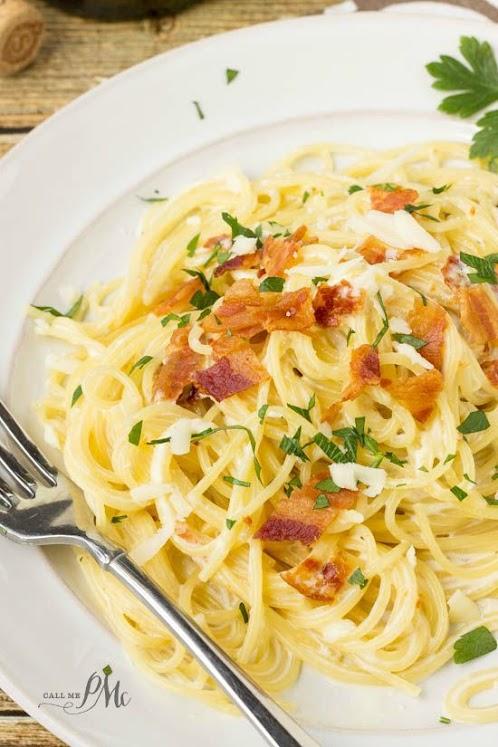 20 Minute One Pot Pasta Carbonara