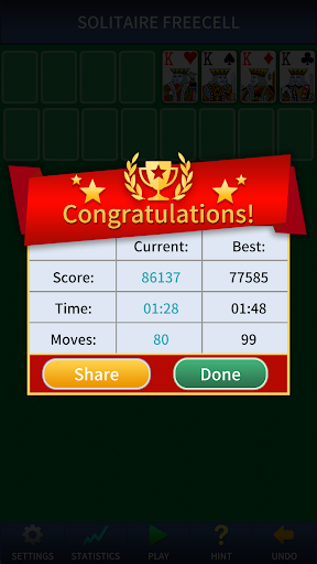 FreeCell Solitaire Classic u2013 free cell card game android2mod screenshots 2